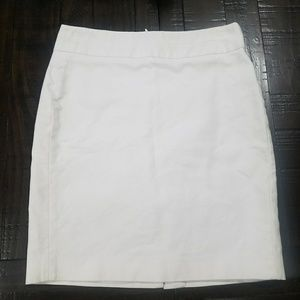 Michael Kors white pencil skirt